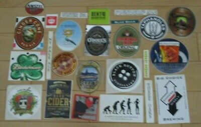 25 BEER STICKER PACK LOT decal craft beer brewing brewery tap handle 65