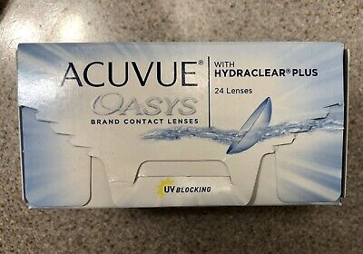 Acuvue Oasys With Hydraclear Plus Contacts X 21 Lenses -4.50 BC 8.4 DIA 14.0