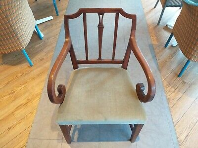 ENGLISH Georgian armchair chair circa 1795 provincial 18th century mahogany
