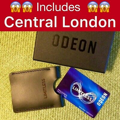 Odeon Limitless (Incl. Central London) - 12 Months Unlimited Annual Membership