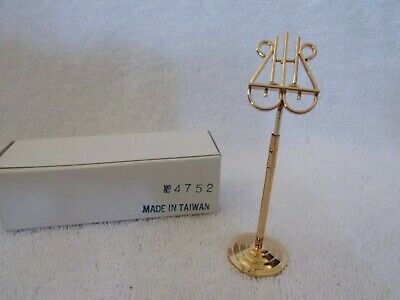 Miniature Doll House Metal Music Stand