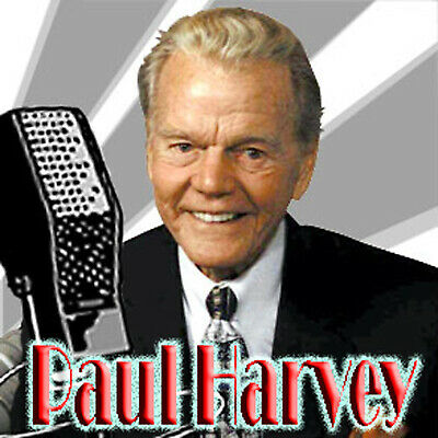 Paul Harvey - News & Comment (715 Shows) Old Time Radio Mp3