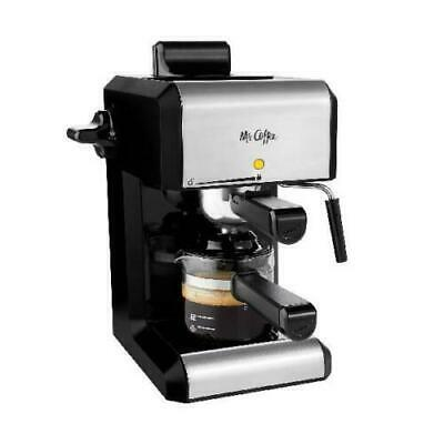 Espresso Mr. Coffee Machines Automatic Cafe Barista Maker with Milk Frother Tool