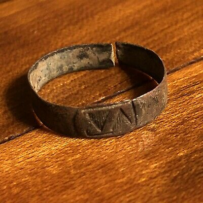 Rare Medieval Or Ancient Greek Byzantine European Jewelry Artifact Old Design 1