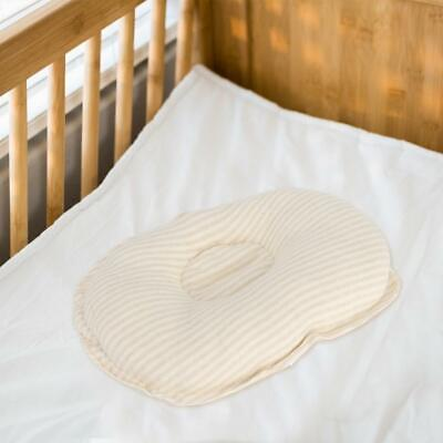 Baby Oval Stripe Groove Pillow Infant Bedding Toddler Cushion Neck Protection