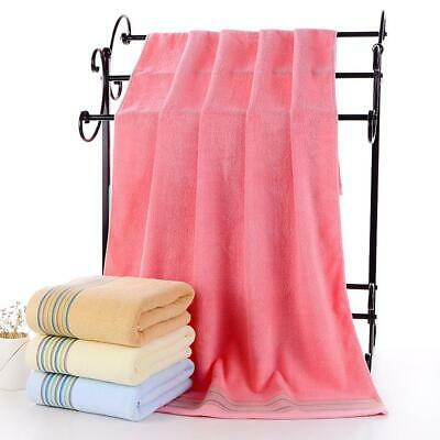 New Unisex Soft Water Absorption Big Bath Towels Solid Drying Beach Towel EA9