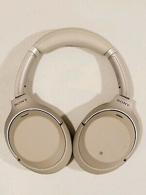 WH-1000XM3/B Sony Bluetooth Wireless Noise Canceling Stereo Headphones -- Silver