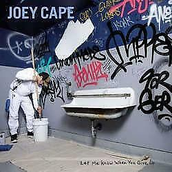 "New Music Joey Cape ""Let Me Know When You Give Up"" CD"