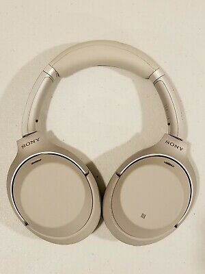 WH1000XM3/B Sony Wireless Bluetooth Noise Canceling Stereo Headphones - Silver