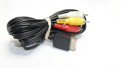 Official OEM Sony PlayStation AV Audio/Video Cable Cord Adapter PS2 PS3 Console