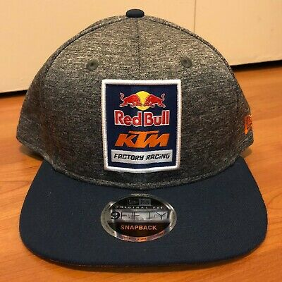 030acb801 RED BULL KTM Factory Racing New Era 9Fifty Snapback Hat AOP TRACKS ...