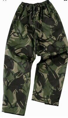 DPM British waterproof Breathable Trouser For-tex 5000 3XL Fishing Shooting 3XL