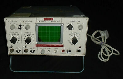 Scopex A4D 10A Dual Trace Oscilloscope Tested Working Vintage Electronics