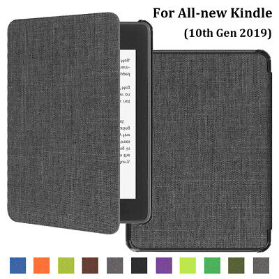 Flip Smart PU Leather Case Cover For All-New Kindle 10th Generation 2019 6""