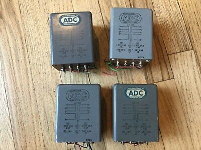 Vintage Adc -Audio Transformers -Two Pair Of A14420 - 600/150 Ohm