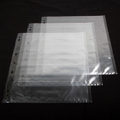 30x 120 Ring Binder Archival Storage Page Sheets B&W Color Film Negative Slide