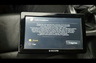 Snooper Truck Satnav 8 Series