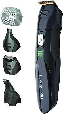 REMINGTON Beard Hair Clipper Shaver Trimmer Cordless Mens Nose Ear Grooming Set