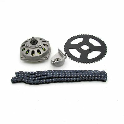 ATV Chain Sprocket Kit 49CC Pit Dirt Bike Sprocket Durable Drive Gears Kt