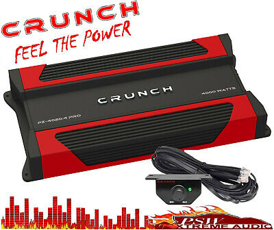 PZ40204PRO Crunch POWERZONE 4000 Watt 4-Channel Full Range Class AB Amplifier