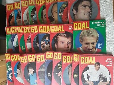 Goal Magazine January To June 1969 ~ Choose Which You Want ~ Good Condition