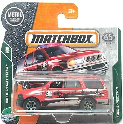 - 2018 Matchbox Silver /& Black Red UK Card #110 Ford Expedition