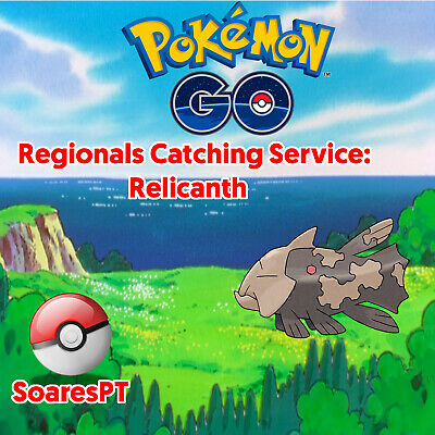 Relicanth Pokemon Go Regional Catching Service ✔ 100% Safe ✔ Buy 2 get 3 ✔