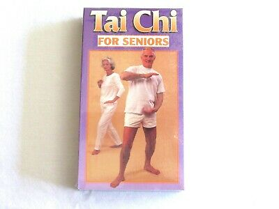 NEW Tai Chi for Seniors VHS Increase Strenght Endurance + Acupressure Techniques