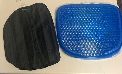 *Open Box*  Egg Sitter Gel Support Cushion Seat W/ Cover Flex Pillow (AC)
