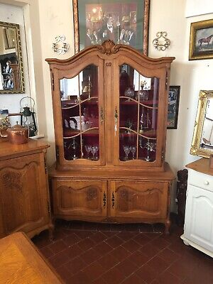 French Oak Louis XV Style Carved Ornate Dresser - Delivery Available SC233