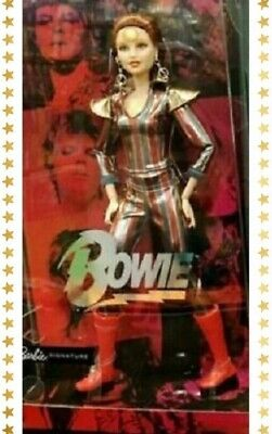 NEW DAVID BOWIE BARBIE DOLL/ GOLD LABEL/ PRE-ORDER/ Ziggy Star Dust/ Limited /