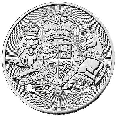 2019 1 oz Great Britain Silver Valiant Coin