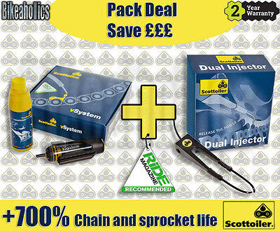 Scottoiler pack - V System & Dual Injector