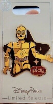 Disney Parks Play Game App Pin Star Tours C3PO C3-PO