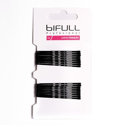 BiFULL Mollette Ondulate 51mm NERE 18pz MOLLETTE CAPELLI