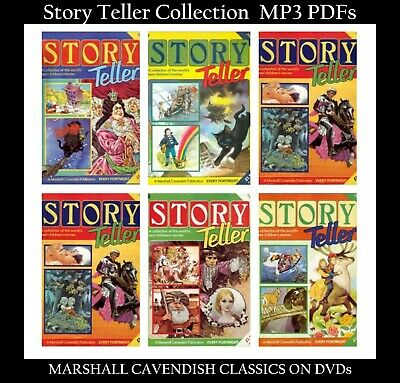 Story Teller Childrens Audio Book Collection MP3 & PDF DVD's MARSHALL CAVENDISH