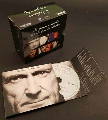 PHIL COLLINS Face Value - 2 CD 2015 doppio digipack + box Discography sealed