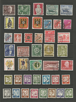 Used stamps from Berlin Germany