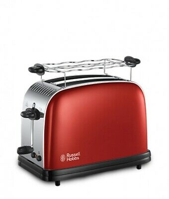 Russell Hobbs 23330-56 Toaster Colours Plus+ Flame Red Kompakt