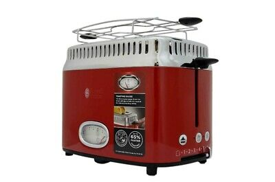 RUSSELL HOBBS Toaster Retro Ribbon Red 21680-56