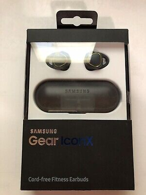 Samsung Gear IconX In-Ear Only Wireless Headphones - Black