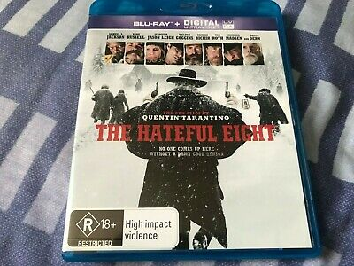 The Hateful Eight Blu Ray Import (australia) Region B