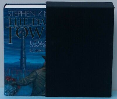 Stephen King's The Dark Tower:The Complete Concordance-signed-#-in slipcaseC1582