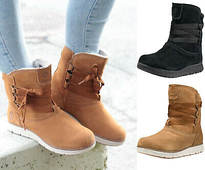 NEW TIMBERLAND WOMEN Leighland Pull On Insulated Waterproof