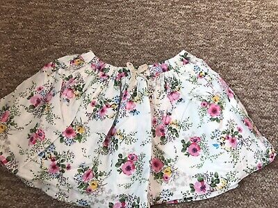 Next Girls Skirt Floral Ditsy Age 2-3 Years Summer Cotton Lined