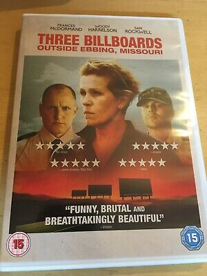 Three Billboards Outside Ebbing, Missouri DVD (2018) Frances McDormand
