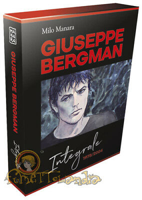 Giuseppe Bergman – L'Integrale Complete Box Manara Collection