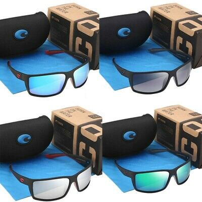 BOX 2019 New Costa Reefton Frame Polarized Sunglasses Surfing Offshore angling