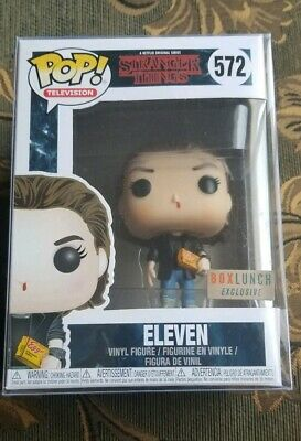 Funko Pop! Television Stranger Things Eleven (Punk) #572 Box Lunch