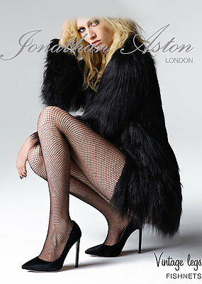 ROUGE Collant Résille Jonathan Aston Taille B Halloween Party BNWT